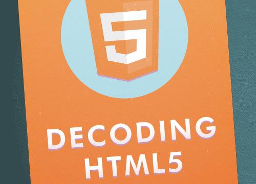 Decoding HTML5