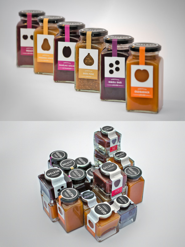Geleta jam package design