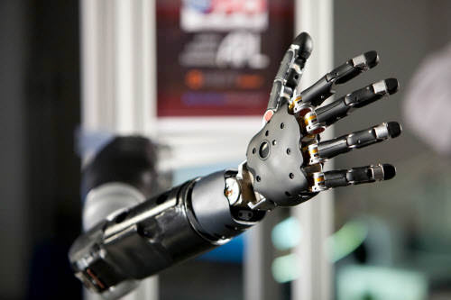 darpa prosthetic arm