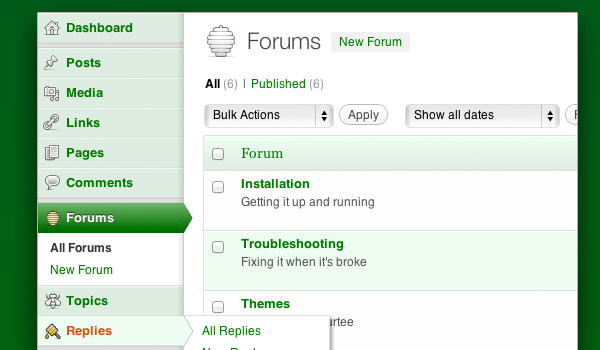bbPress org website open source WordPress plugin forum software
