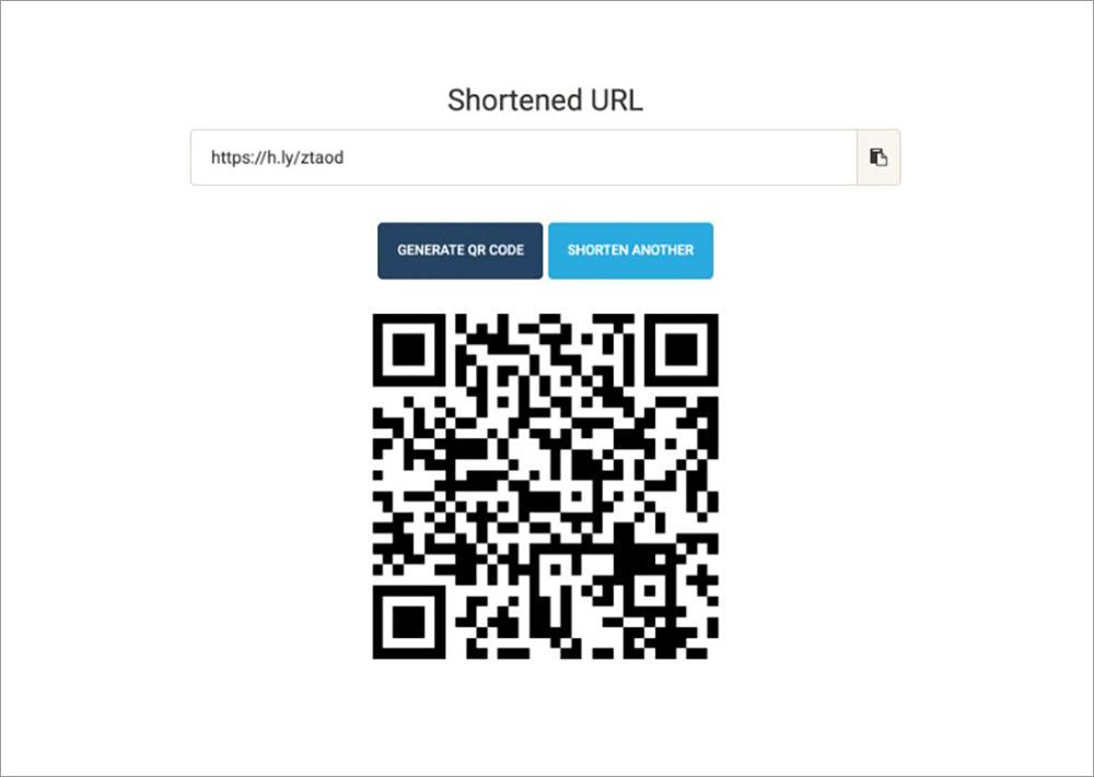 generated shorturl