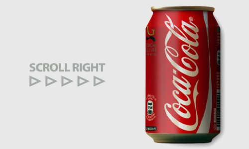 coke bottle css