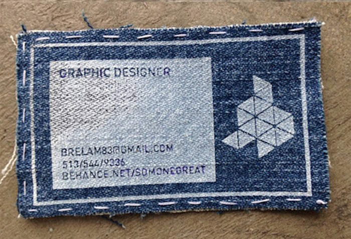 Jeans Business Card