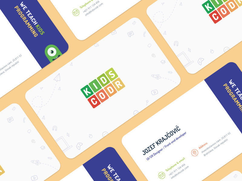 Kidscodr Business Cards