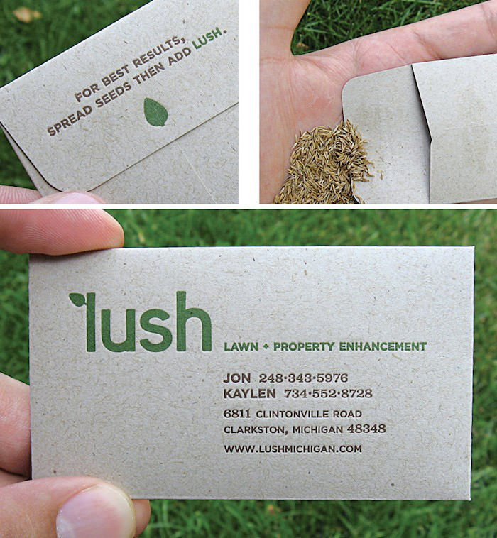 Identity and Card Design | Lush
