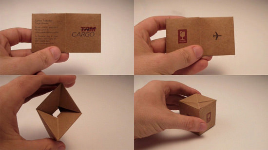 20 more business card designs that will leave an impression hongkiat tokstok deals in the manufacturing of self assembly furniture their creative business card can be transformed into a little self assembly chair colourmoves