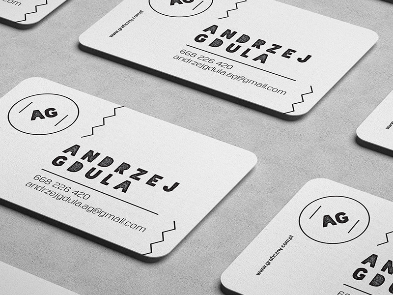 Free HiRes Business Card Mockups Hongkiat - Rounded corner business card template