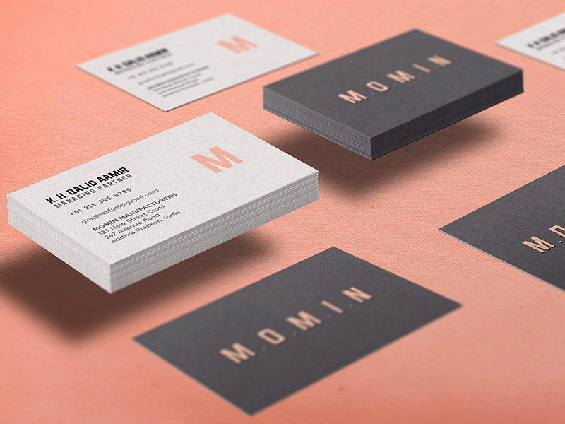 Free HiRes Business Card Mockups Hongkiat - Business card design template free