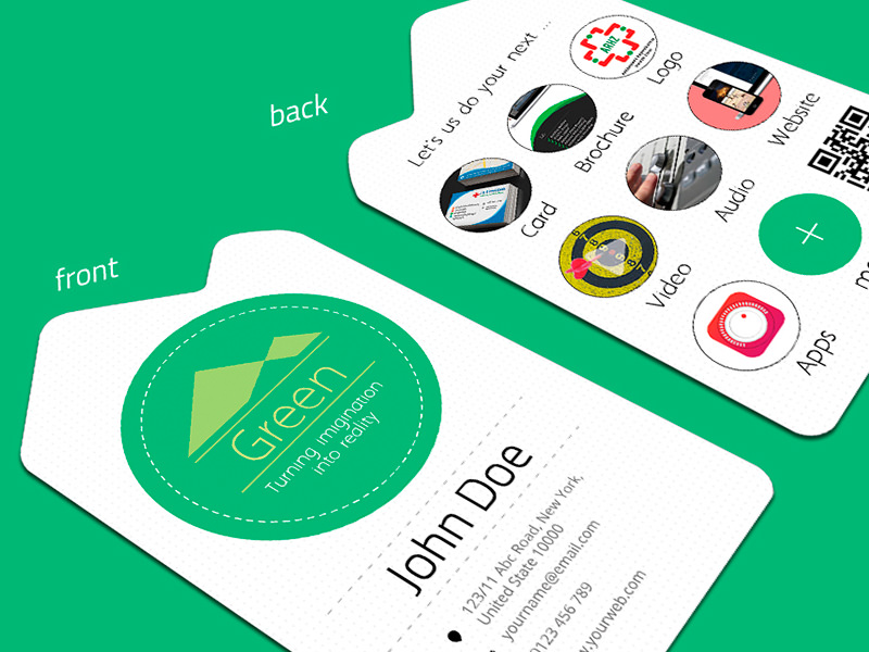 21 free hi res business card mockups hongkiat nature business card design reheart Image collections