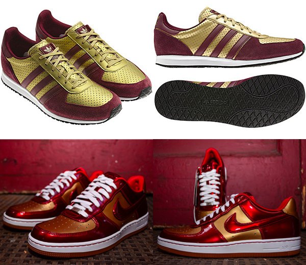 Iron Man Themed Sneakers