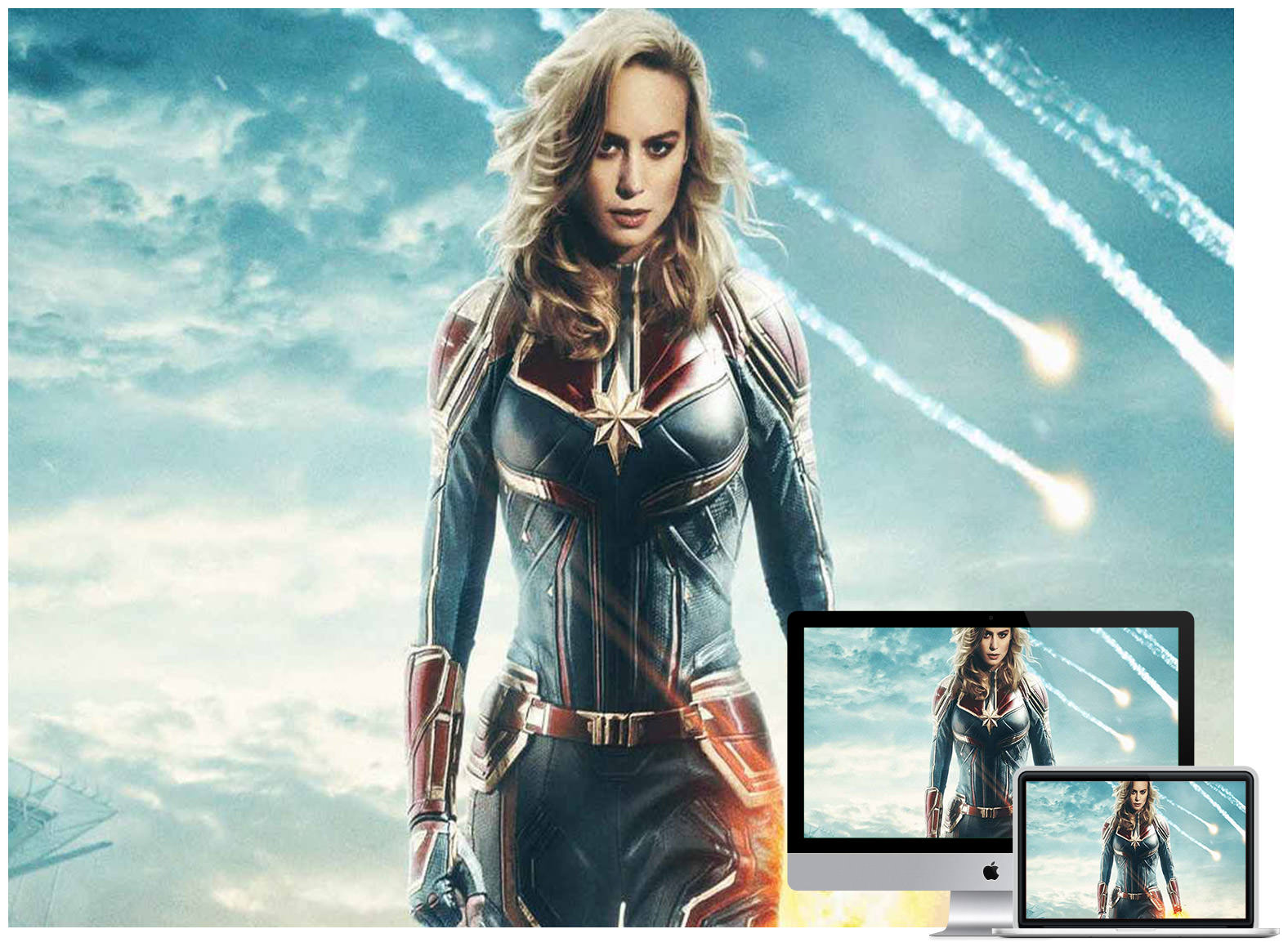 Brie Larson as Captain Marvel 2