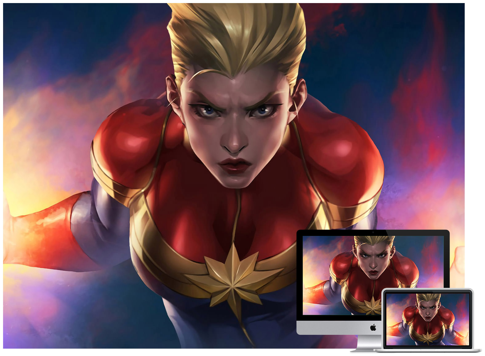 Captain Marvel 4k