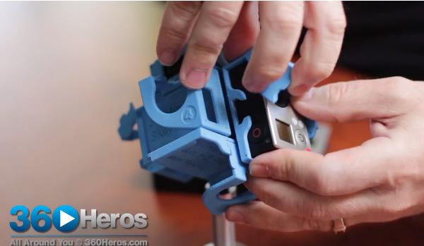 installing gopro