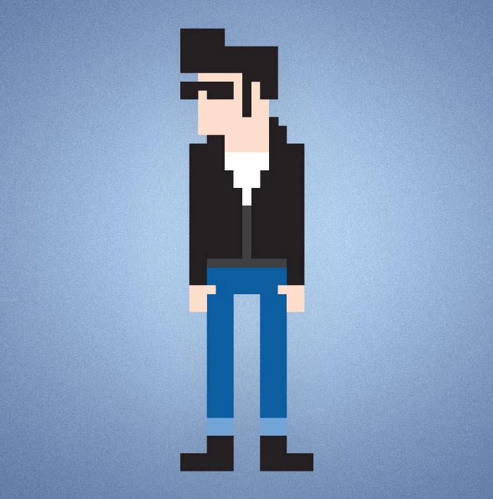 8-bit-pixel-character