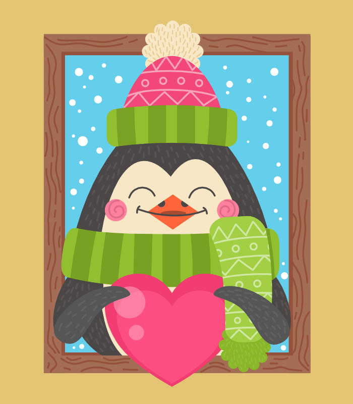 cartoon-penguin