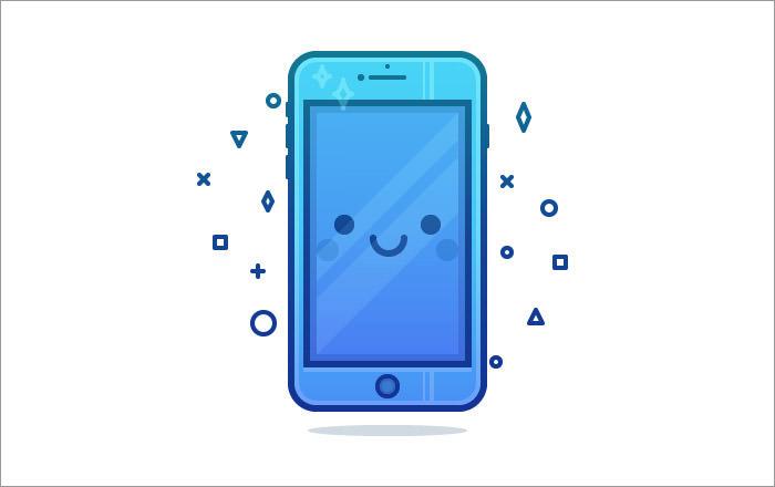 cute-phone-character