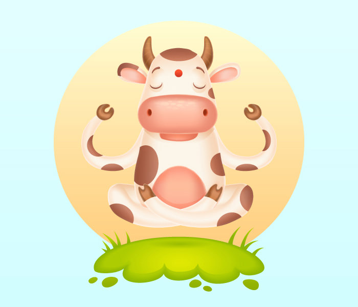 meditating-cartoon-cow