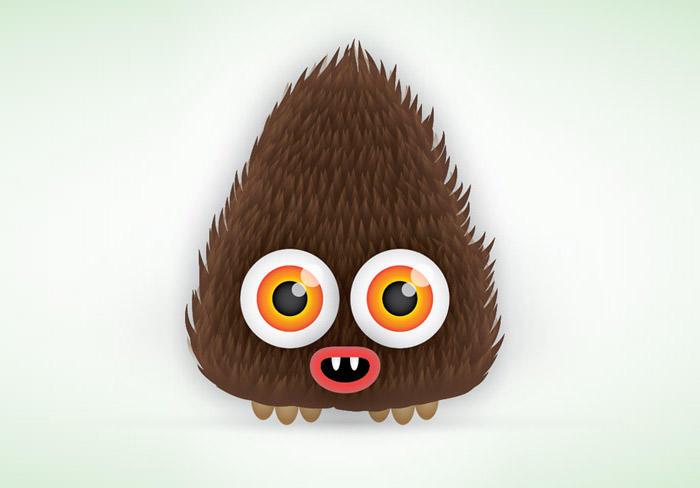 cute-hairy-vector