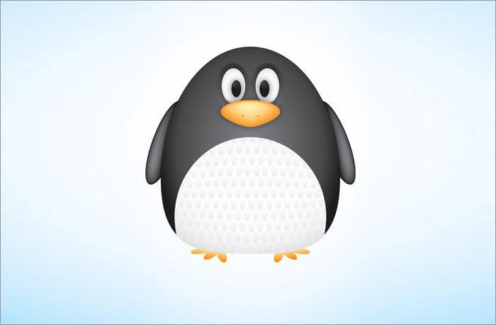 cute-vector-penguin