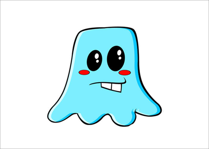 blue-vector-character
