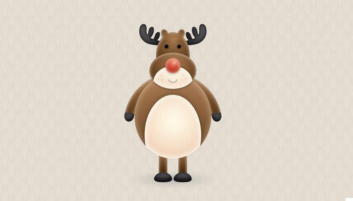 cute-vector-reindeer