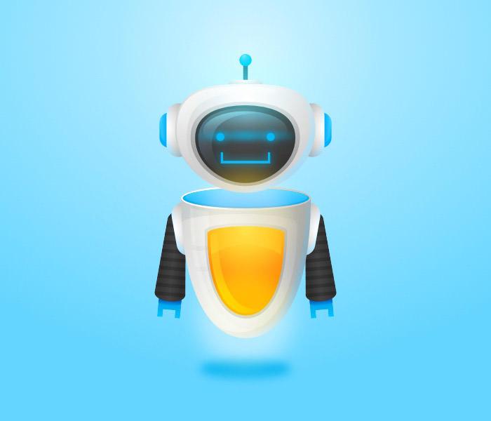 friendly-futuristic-robot