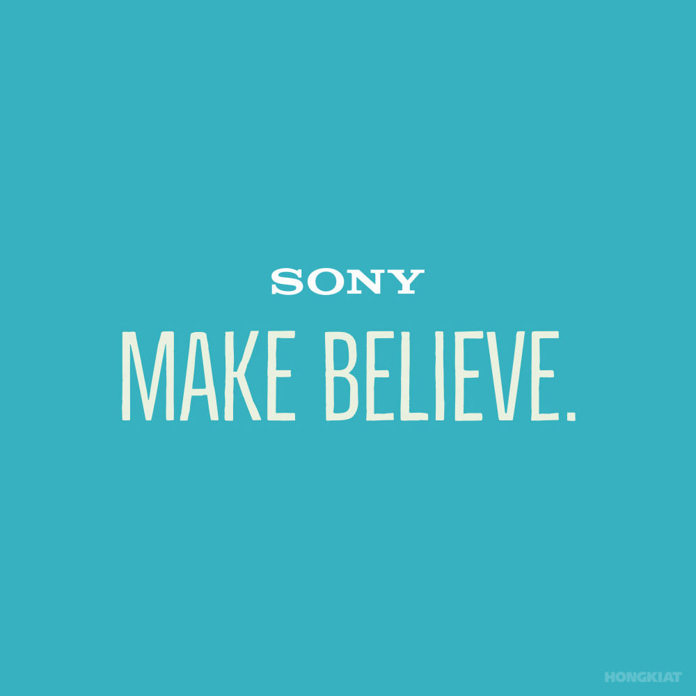Sony 77 Remarkable Slogans and Guidelines On How To Create Them