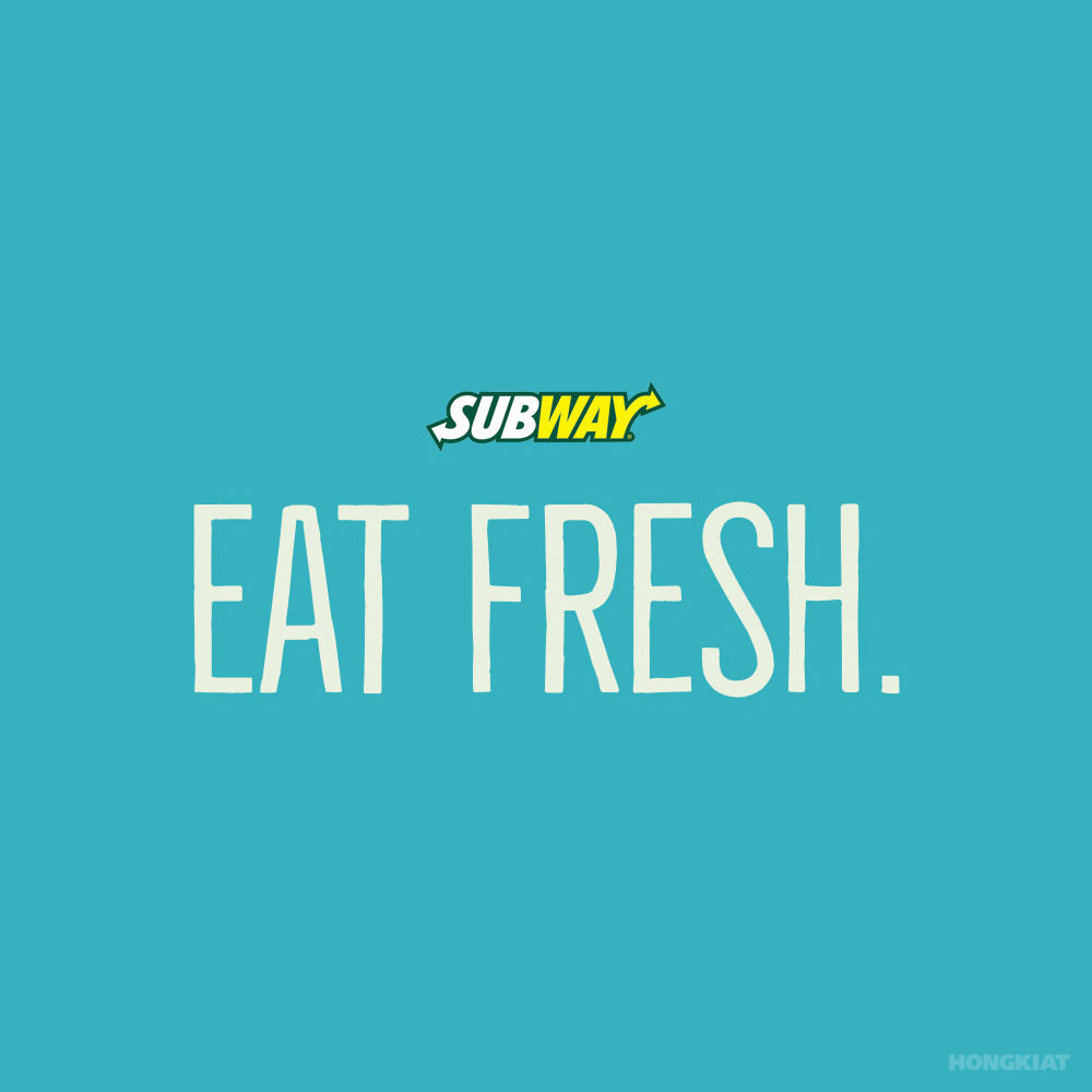 Subway 77 Remarkable Slogans and Guidelines On How To Create Them