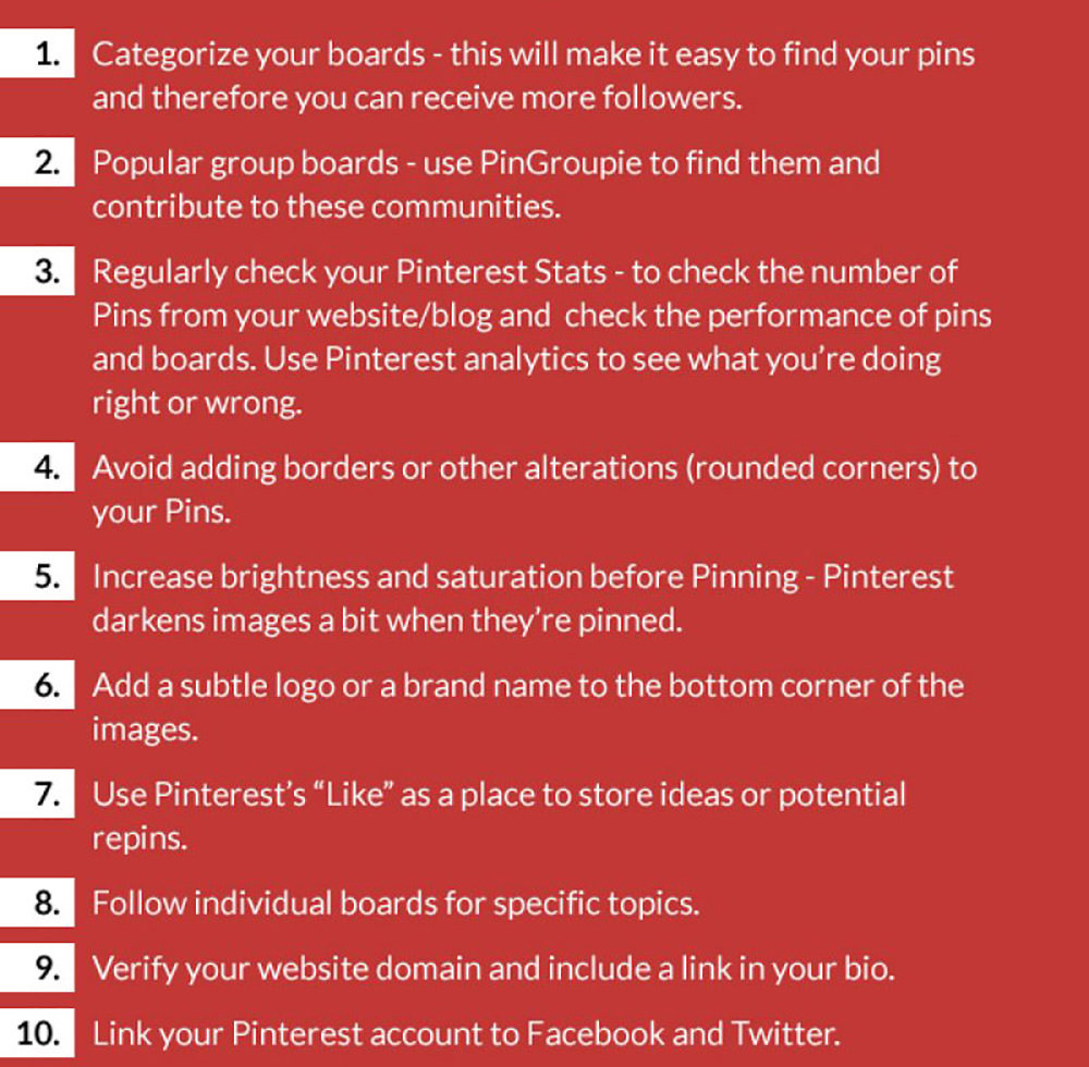 Social Media Marketing Growth Hacks: Pinterest