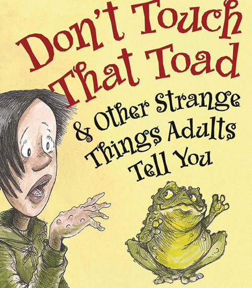 dont touch that toad