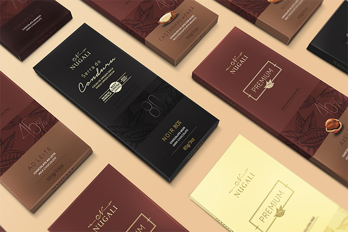 chocolate packaging