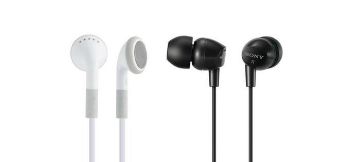 Example for earbuds
