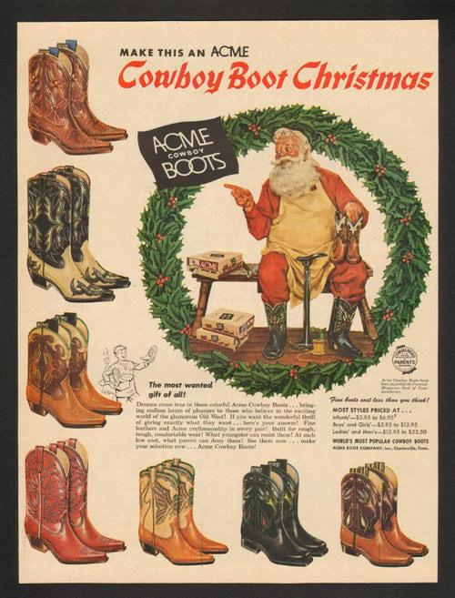 Acme's Cowboy Boots