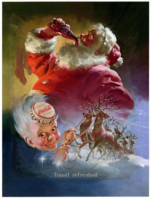 Santa and Sprite Boy