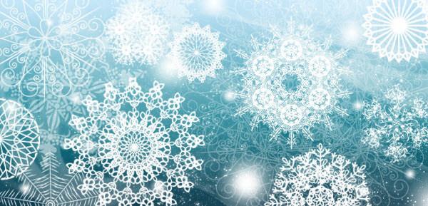 complex snowflakes
