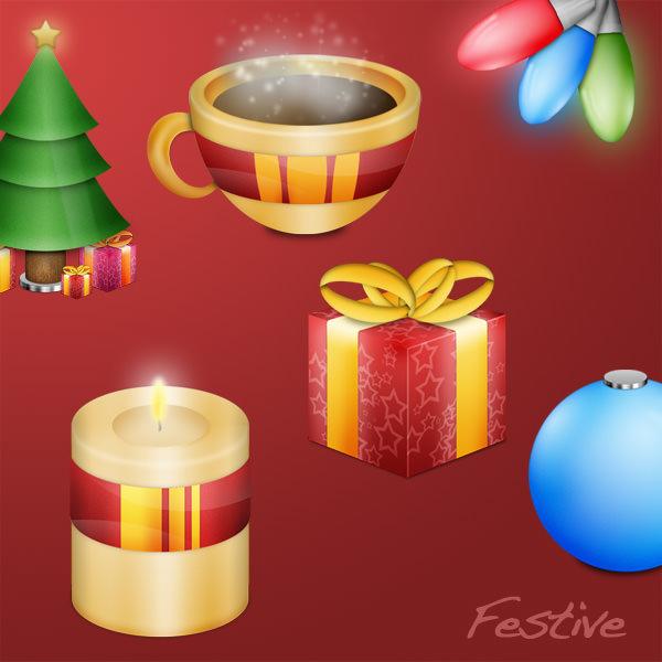 festive set