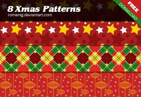 xmas patterns