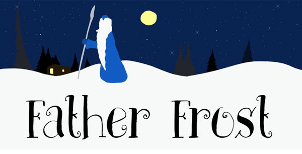 dk-father-frost-christmas-font
