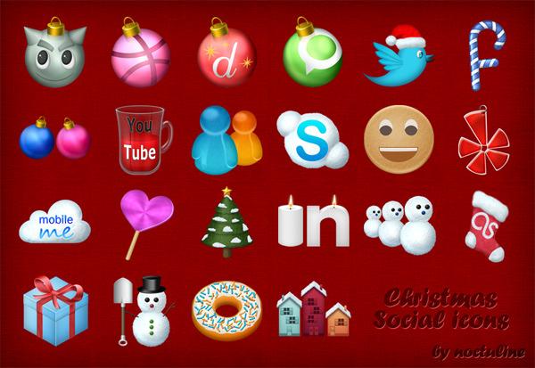 Christmas-Social-Icons
