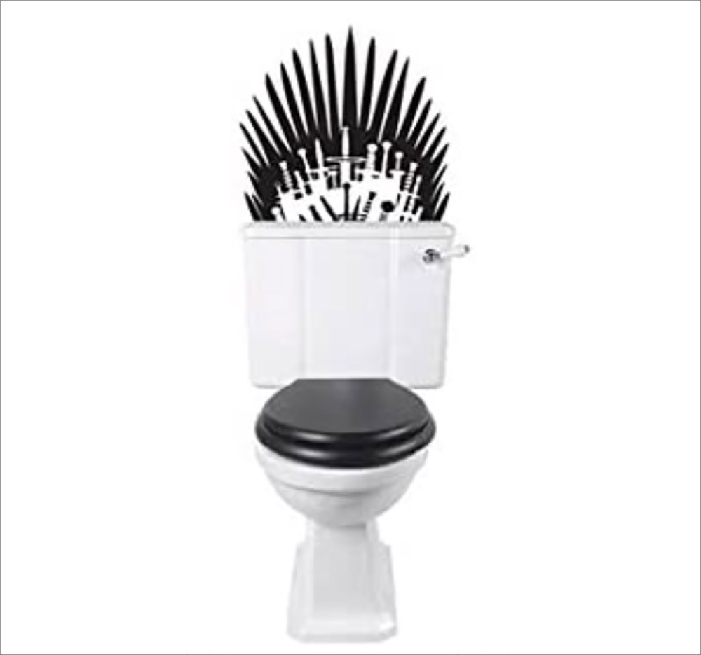 Game of Thrones Toilet Decals