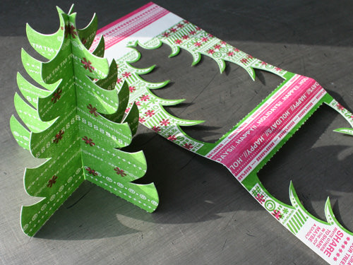 Typography Christmas Tree