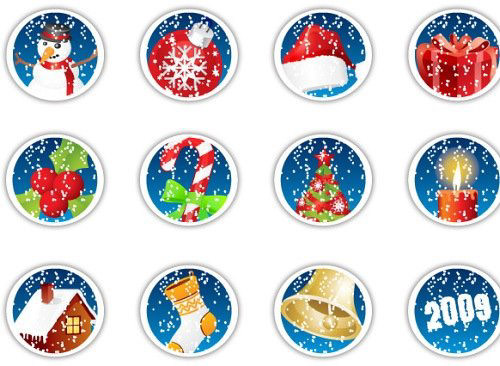 aComment_Christmas_icons