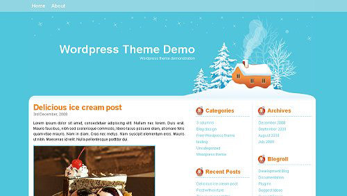 developerfox_Christmas_wordpress_themes