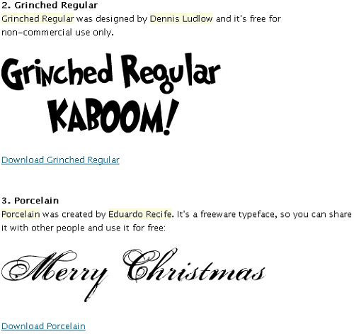 woork_Christmas_fonts