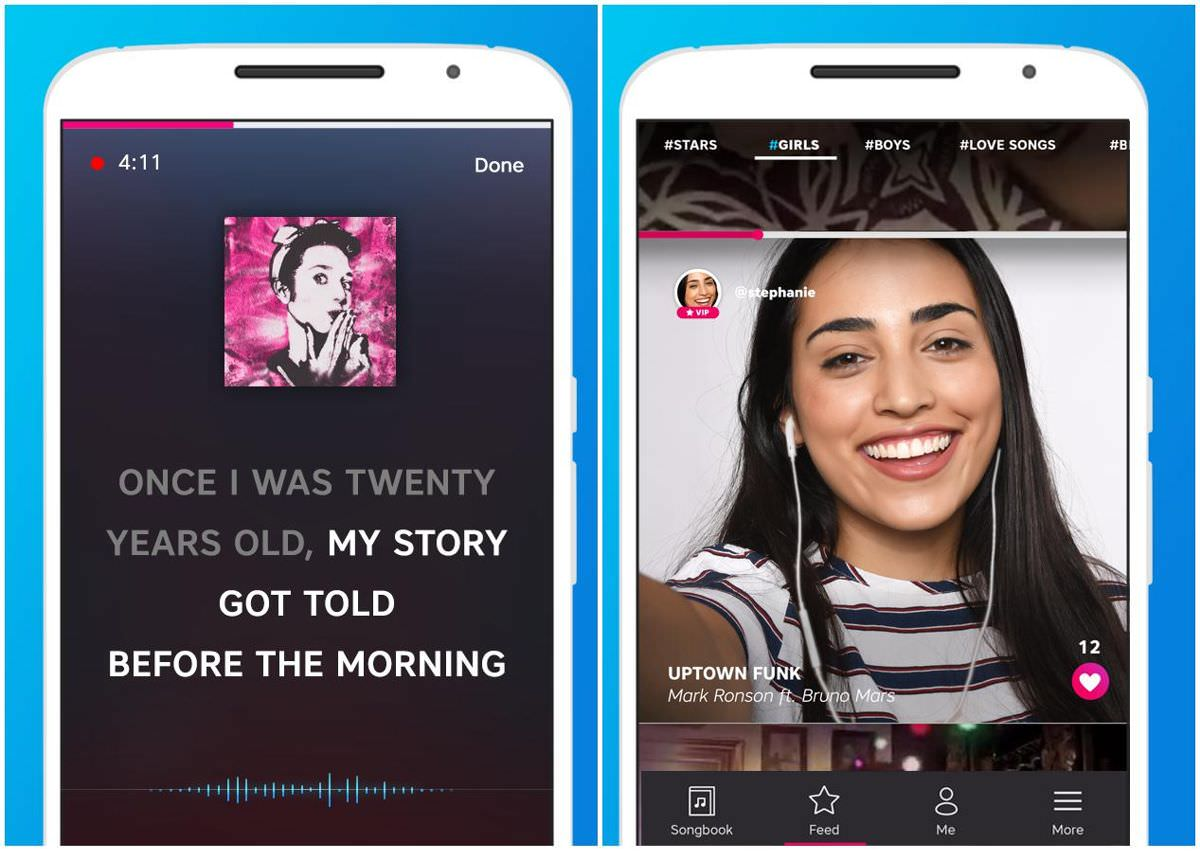Karaoke by Yokee is a singing app