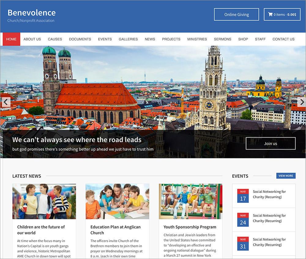 Benevolence WordPress Theme