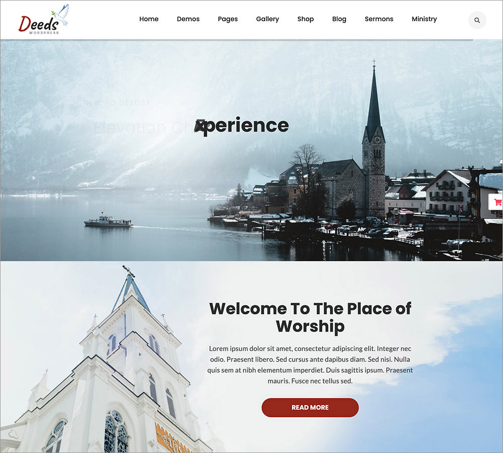 Deeds WordPress Theme