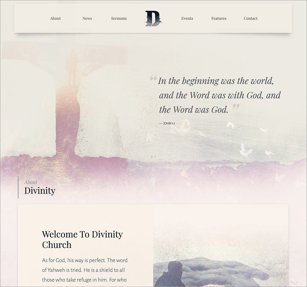 Divinity WordPress Theme
