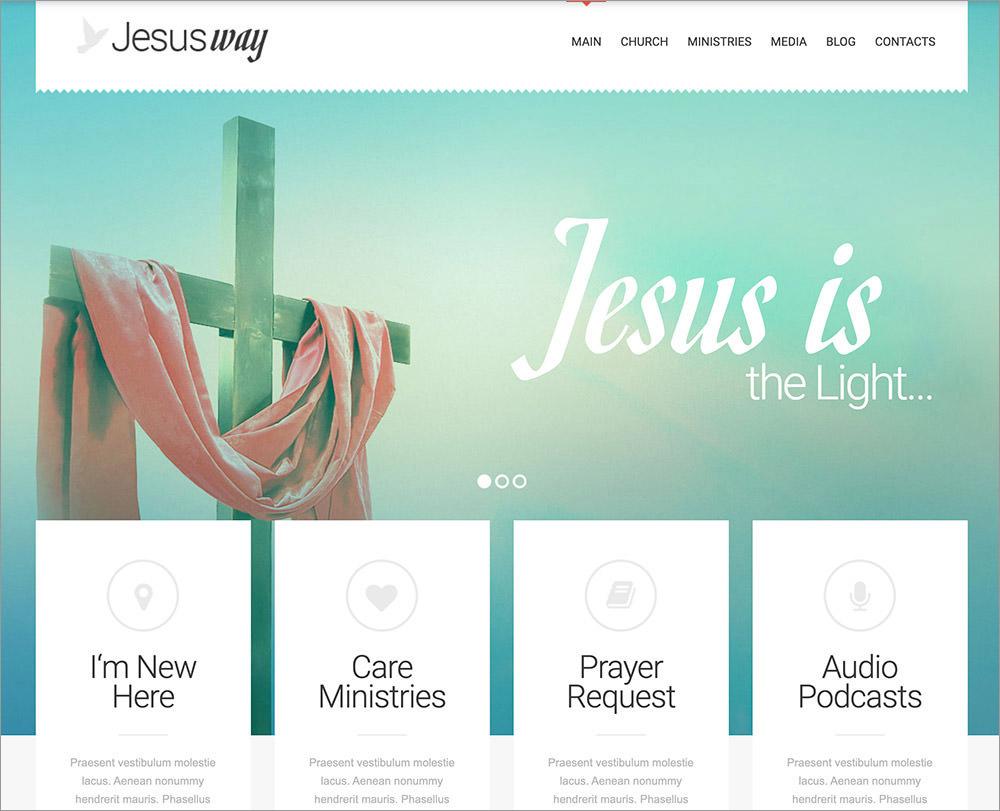 JesusWay WordPress Theme