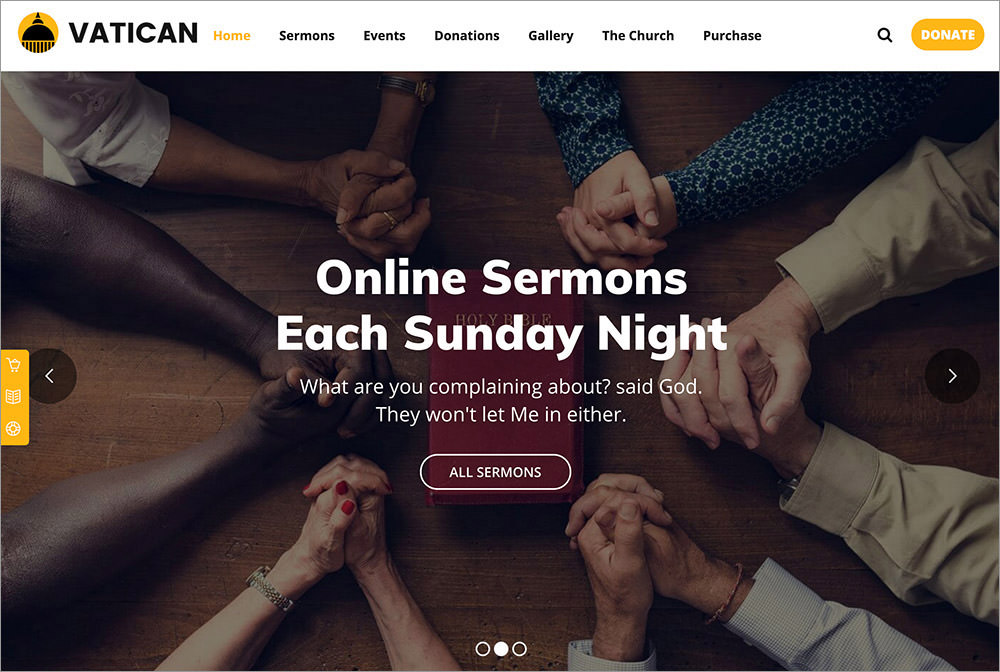 Vatican WordPress Theme